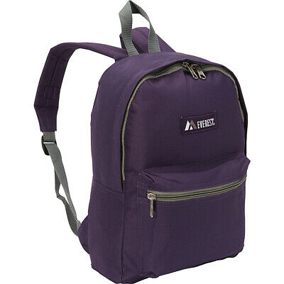 Everest Basic Backpack 28 Colors Everyday Backpack NEW