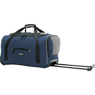 "Travelers Club Luggage Adventure 22"" 2-Tone Travel Duffel NEW"