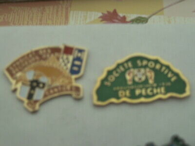 Pin's  Peche  /  Lot De 2