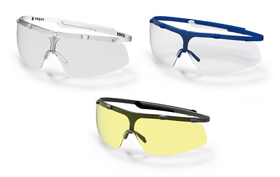 Uvex Super G Anti-Fog Scratch Chemical Resistant Safety Spectacles Glasses