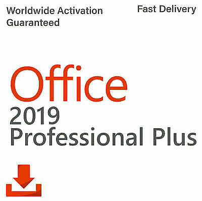 Microsoft Office 2019 Professional Plus Genuine Key ✔️Instant Delivery