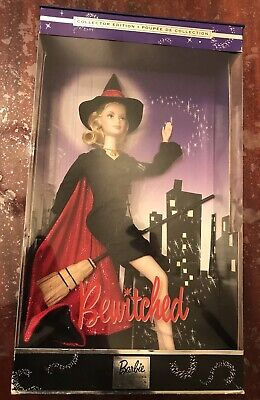 """2001 MATTEL Barbie Doll """"As SAMANTHA from BEWITCHED"""" Collector Edition - NEW"""