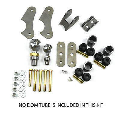 Heavy Duty Universal Anti Wrap Traction Bar Bracket Kit Only- Off Road- Diesel