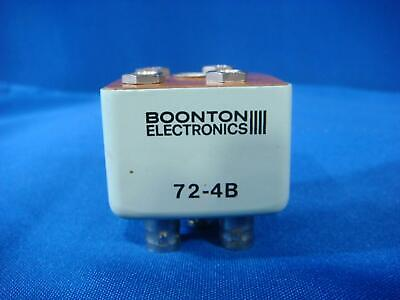 Boonton 72-4B BNC(f) Test Port Adapter for 72 Series Capacitance Meters