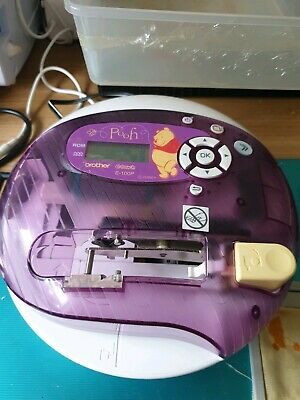 Brother E Touch Disney Self Embroidery Machine Fwo & Threads And Manual E100P