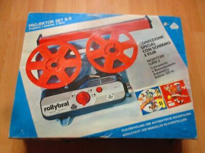 Kinder Projector Set S / 8 - Rollybral - Super 8