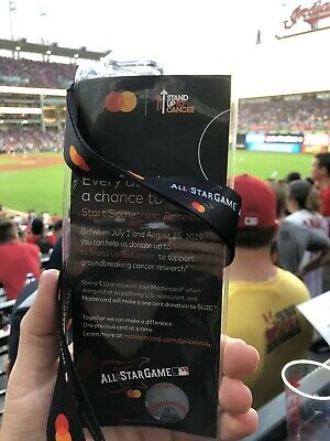 2019 MLB All Star Game official SGA lanyard and ticket holder