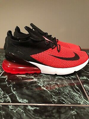 promo code c6d71 5c324 NIKE AIR MAX 270 Flyknit Black Chile Red Sneaker - $99.99 ...