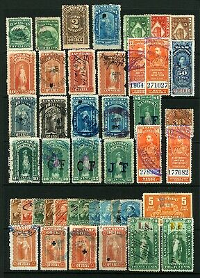 Canada 1c to $4 1872-1946 Revenue Registration Bill & Law Stamp Lot Mostly Used
