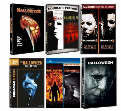 Halloween Blu Ray Box Set.Halloween Complete 10 Movie Collection Blu Ray 10 Disc Box Set Brand