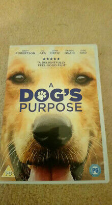 A dog'd purpose dvd, used