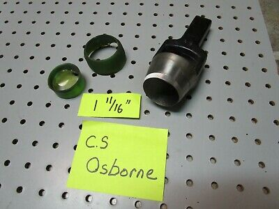 "C.S Osborne Arch Punch 1 11/16"" Hole Punch Drop Forged Alloy Steel NICE"
