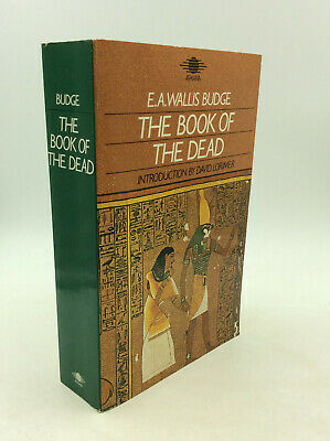 THE BOOK OF THE DEAD by E. A. Wallis Budge - 1985, illus. - EGYPT