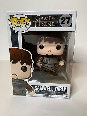 Funko Pop Game Of Thrones Samwell Tarly #27 Authentic Vaulted Edition Four W/Pp