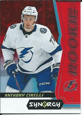 2018-19 Upper Deck Synergy ANTHONY CIRELLI Rookie Red Parallel #70