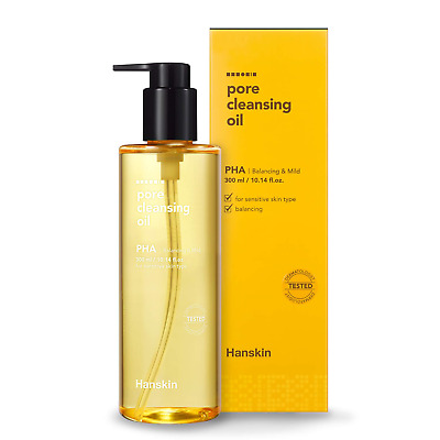 Hanskin Pore Cleansing Oil, Gentle Blackhead Cleanser and Makeup Remover for -