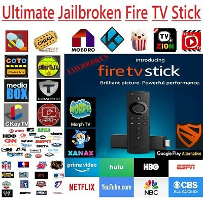 🔒ULTIMATE EDITION🔒 2nd Gen Amazon Fire Stick with Alexa Voice Remote