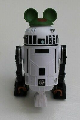 Disney Parks Star Wars Droid Factory Build A Droid R2 Black Green Mickey Ears