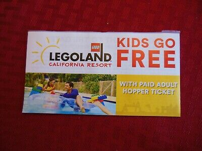 LEGOLAND**Kids go F.. with paid Adult Hopper Ticket ** Discount  **{{ 2019 }}
