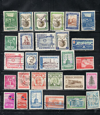 Dominican Republic  Stamps Canceled Used & Mint Hinged    Lot 50976
