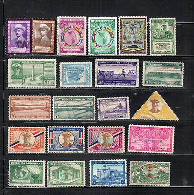 Dominican Republic  Stamps Canceled Used   Lot 50978