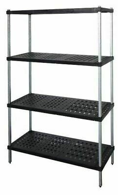 Coolroom Shelving Galvanised Post Real Tuff Shelves 2000H x 450W