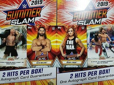 2019 Topps WWE SummerSlam  (1-100) - YOU PICK FROM LIST
