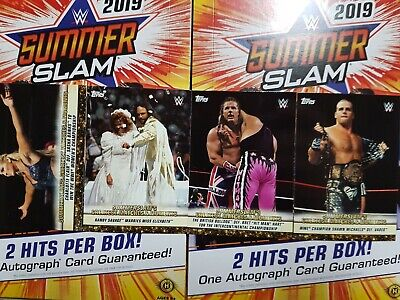 2019 Topps WWE SummerSlam Greatest Matches and Moments - YOU PICK FROM LIST