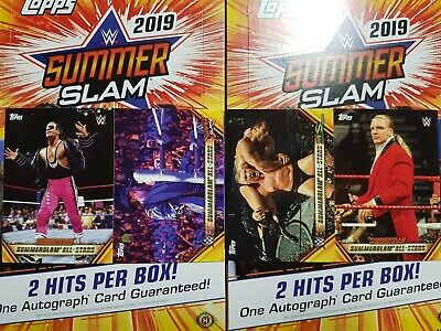 2019 Topps WWE SummerSlam All-Stars - YOU PICK FROM LIST