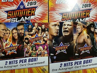 2019 Topps WWE SummerSlam Posters Spotlight - YOU PICK FROM LIST