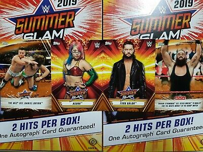 2019 Topps WWE SummerSlam  Bronze - YOU PICK FROM LIST