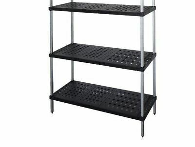 Coolroom Shelving Stainless Steel Post Real Tuff Shelves 1200H x 525W