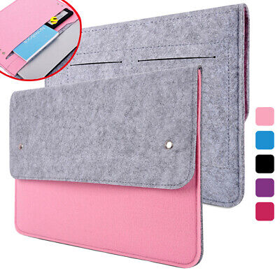 Ultra Thin Notebook Sleeve Case Bag For MacBook Air Pro Retina HP Dell Lenovo