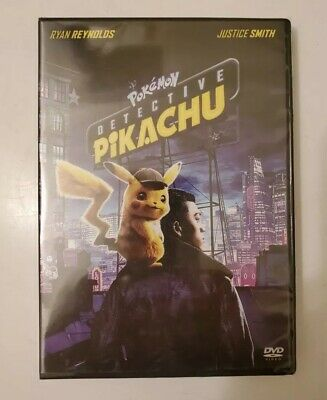 Pokemon Detective Pikachu Dvd 2019-New Sealed-Ships Now