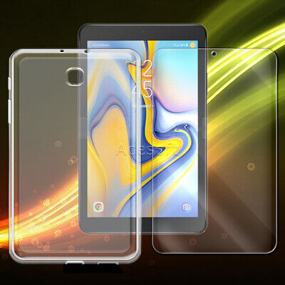 """Premium Clear Screen Protector or Case for Samsung Galaxy Tab A 8.0"""" (2018) T387"""