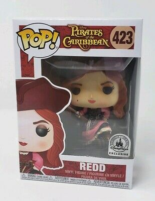 Funko Pop #423 Redd Pirates Of The Caribbean Disney Parks Exclusive New