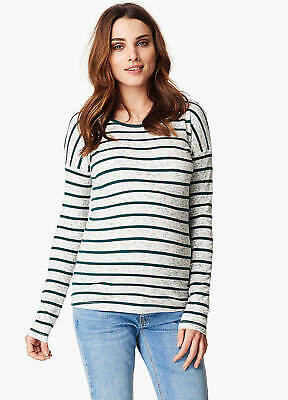 NEW - Noppies - Galina Striped Maternity Pregnancy Jumper