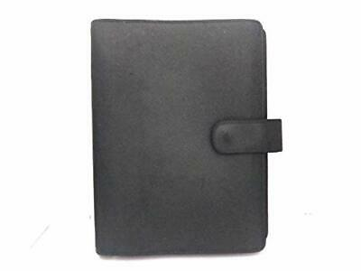 LOUIS VUITTON Taiga Agenda MM Day Planner Notebook Cover Episea R20403 Used