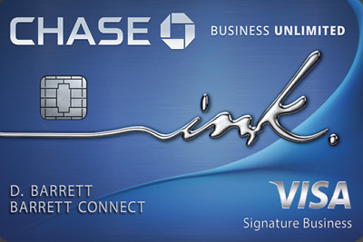 $75 + $500 Sign Up Bonus for Chase Ink Unlimited Business Credit Card Referral
