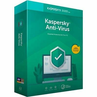 KASPERSKY ANTI-VIRUS 2019 - 1 PC - Global Key - [360 DAYS]