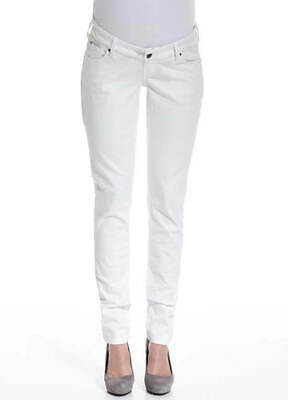 NEW - Queen mum - White Slim Fit Denim Jeans - Maternity Jeans