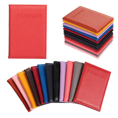 Protector  Travel Passport Cover  Credit Card Holder ID  Case Faux Leather