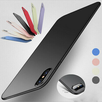 Ultra-thin Matte Hard Case Cover For Apple iPhone Huawei Samsung Galaxy OnePlus