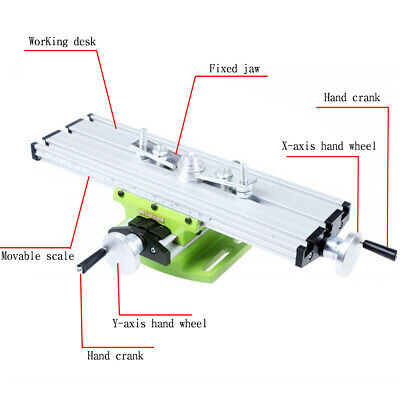 SALE! High Quality Durable Aluminium Alloy Mini Multifunction Working Vise Table