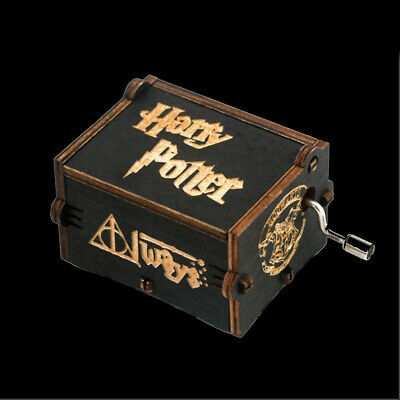 Birthday Souvenir Gifts Harry Potter Theme Music Box Hand Crank Music Box