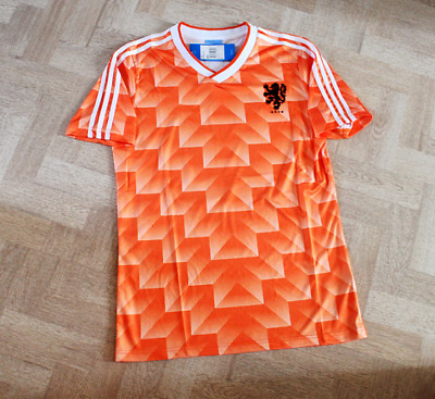 Netherlands 1988 Home Retro Football Soccer Shirt Classic Holland Jersey Vintage