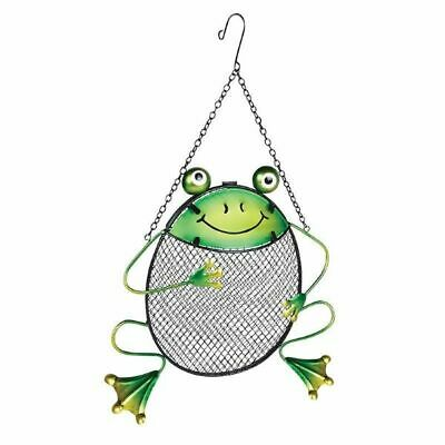 Frog Peanut Feeder Add Colour and Fun To Your Garden Suitable Sunflower Peanuts