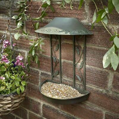 Secret Garden Wall Hanging Bird Table Hang On Walls Fences Attract Wild Birds