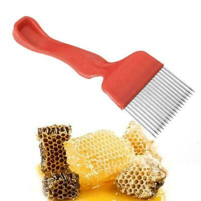 Bee Keeping Beekeeping Honey Comb Stainless Steel Tine Fork Uncapping U8U4