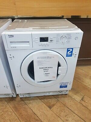 BEKO WMI71641 7KG 1600rpm A+ Integrated Washing Machine - White